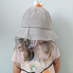 Other - Kids' hat with face shield